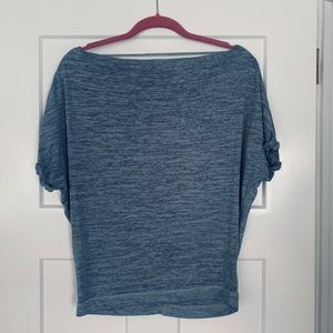 Boat neck free people t shirt
